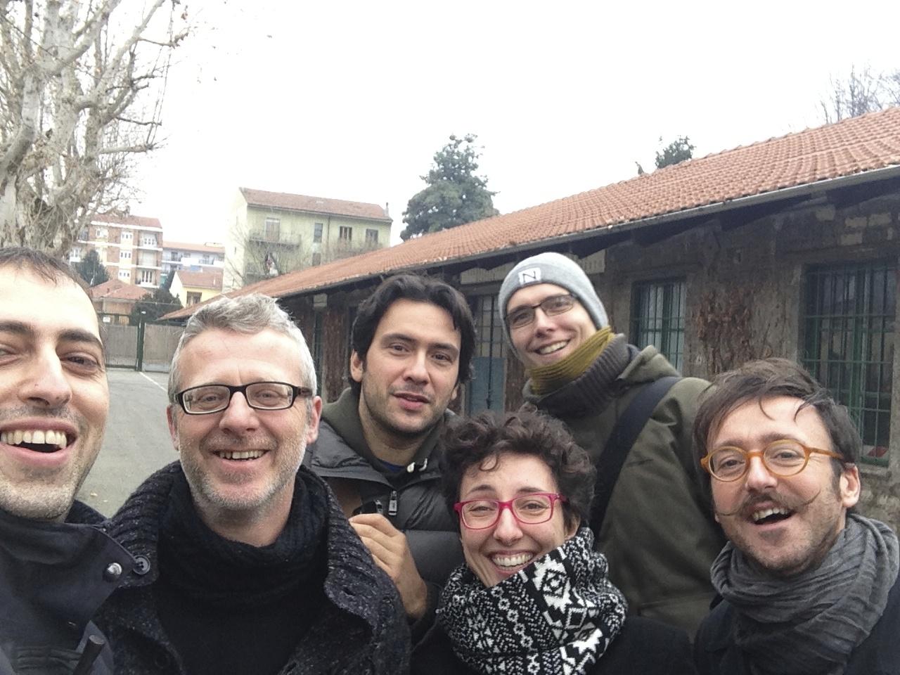 3quietmen meets Green Brotz Turin